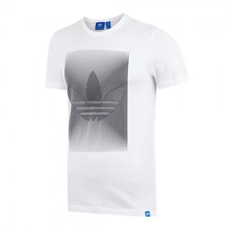 Adidas G WEBEX TREF - Tee-shirt white/black