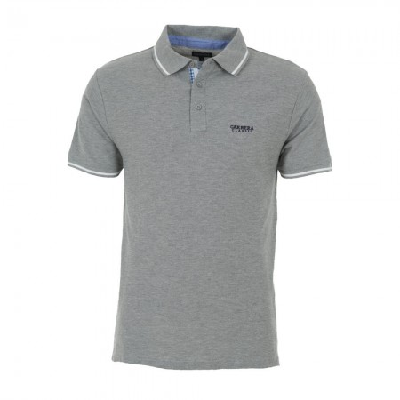 Carrera Jeans RR2 - Polo Homme gris