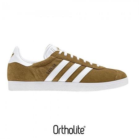 Adidas GAZELLE - Sneakers Homme honey/white
