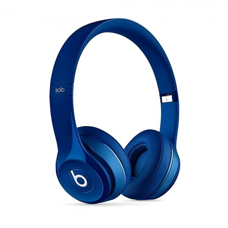 Beats SOLO 2 - Casque reconditionné bleu - Grade A