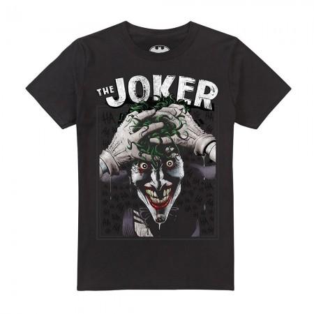 T-shirt - Homme - DC COMICS - Crazed Joker - Black