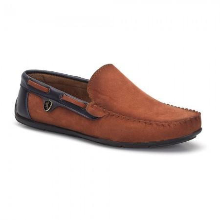 Loafers - Dark Seer - Taba / Navy Blue - LFR010TBLCX