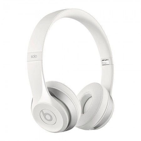 Beats SOLO 2 - Casque reconditionné blanc - Grade A