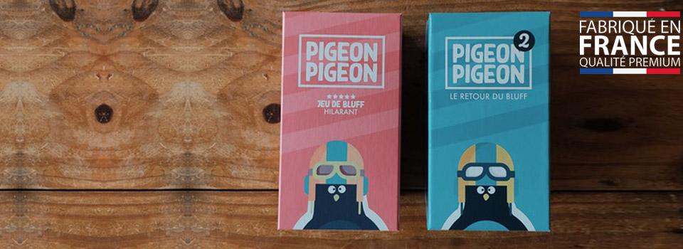 PIGEON PIGEON 2 en vente flash chez HOMME PRIVÉ